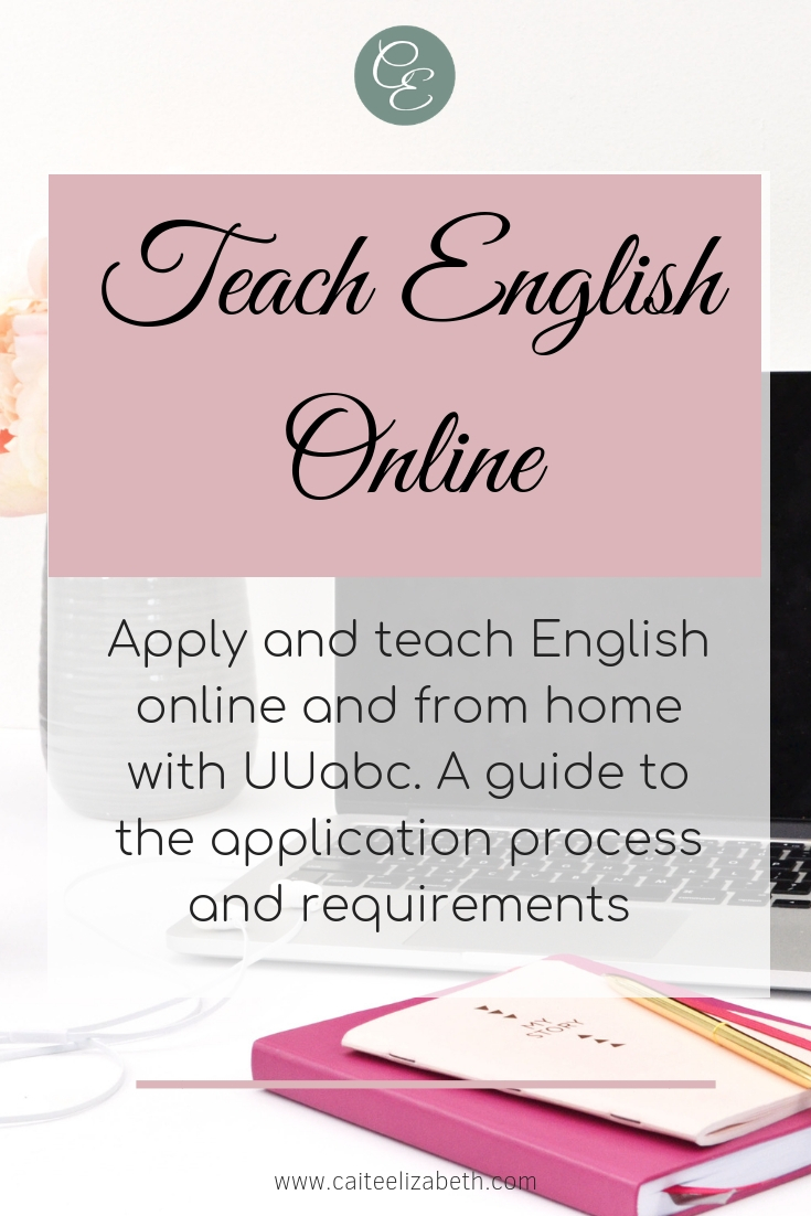 Become an online English teacher and apply with UUabc