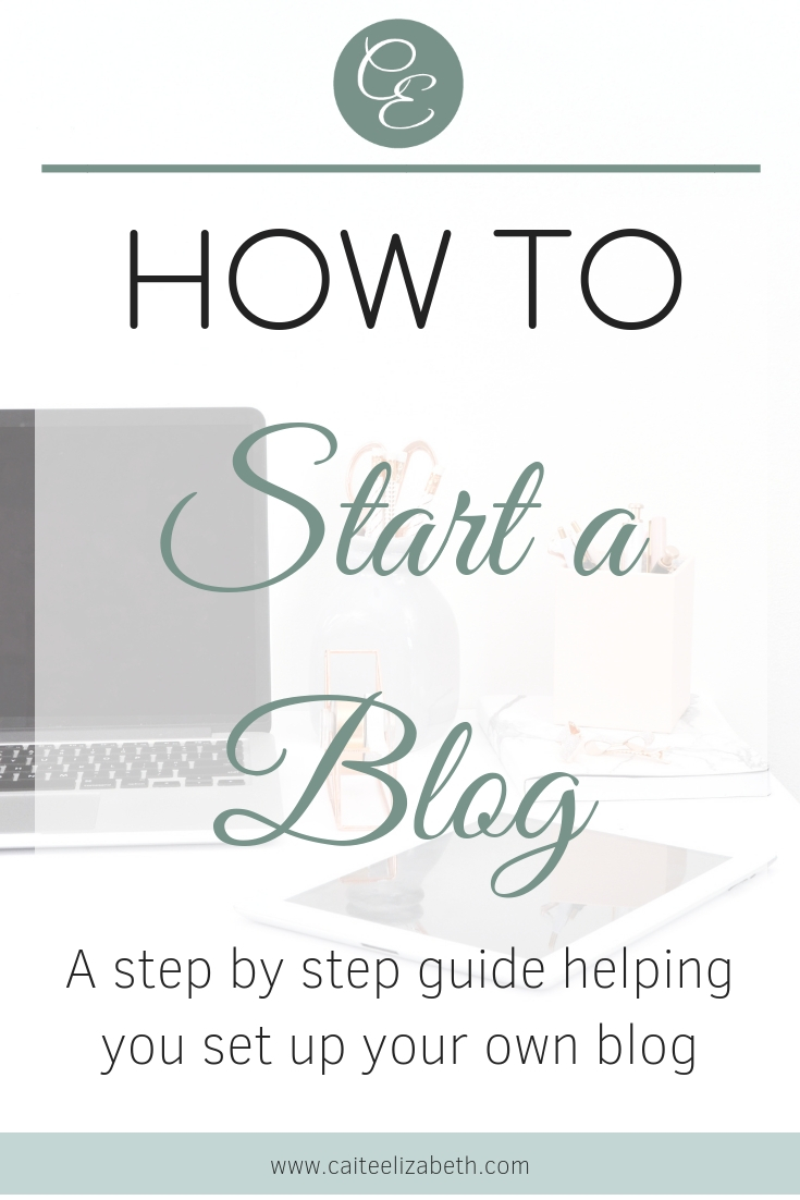 A step by step guide to help you set up and start a blog. This guide takes you through setting up your domain name, hosting and WordPress.
