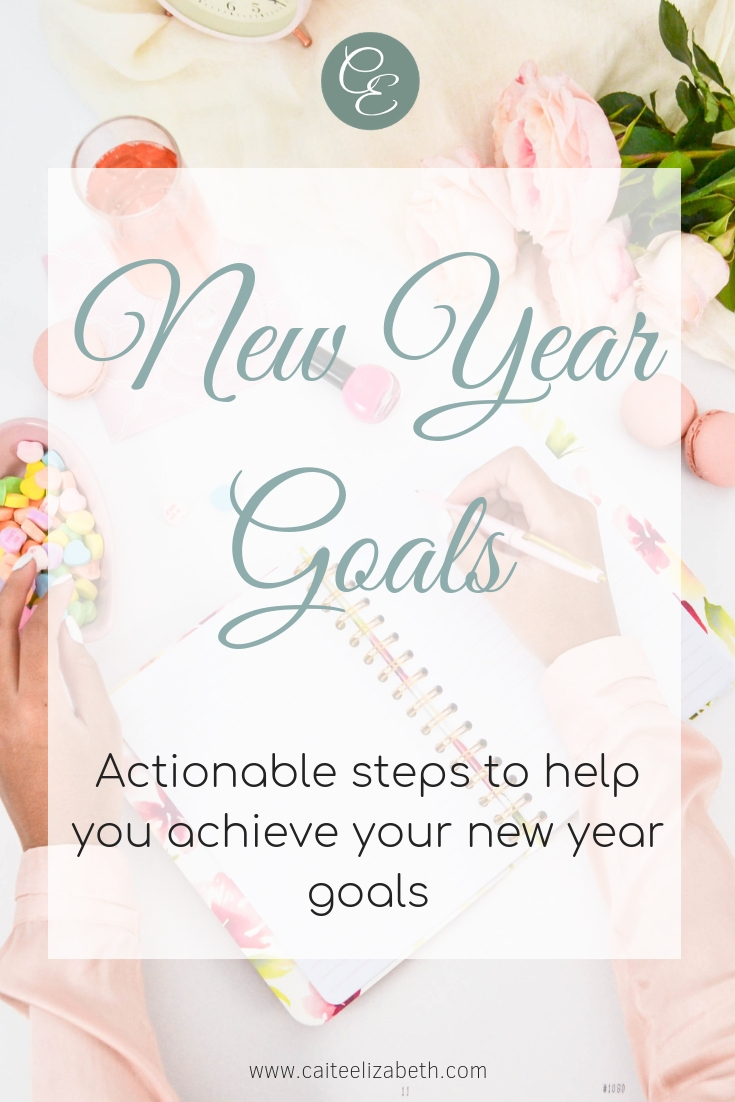 Set new year goals but unsure how to achieve them? Worried about last years goals set and perhaps not achieved? Do not worry, read on to find out 7 actionable steps you can make, which will break down your new year goals and help you to achieve them.