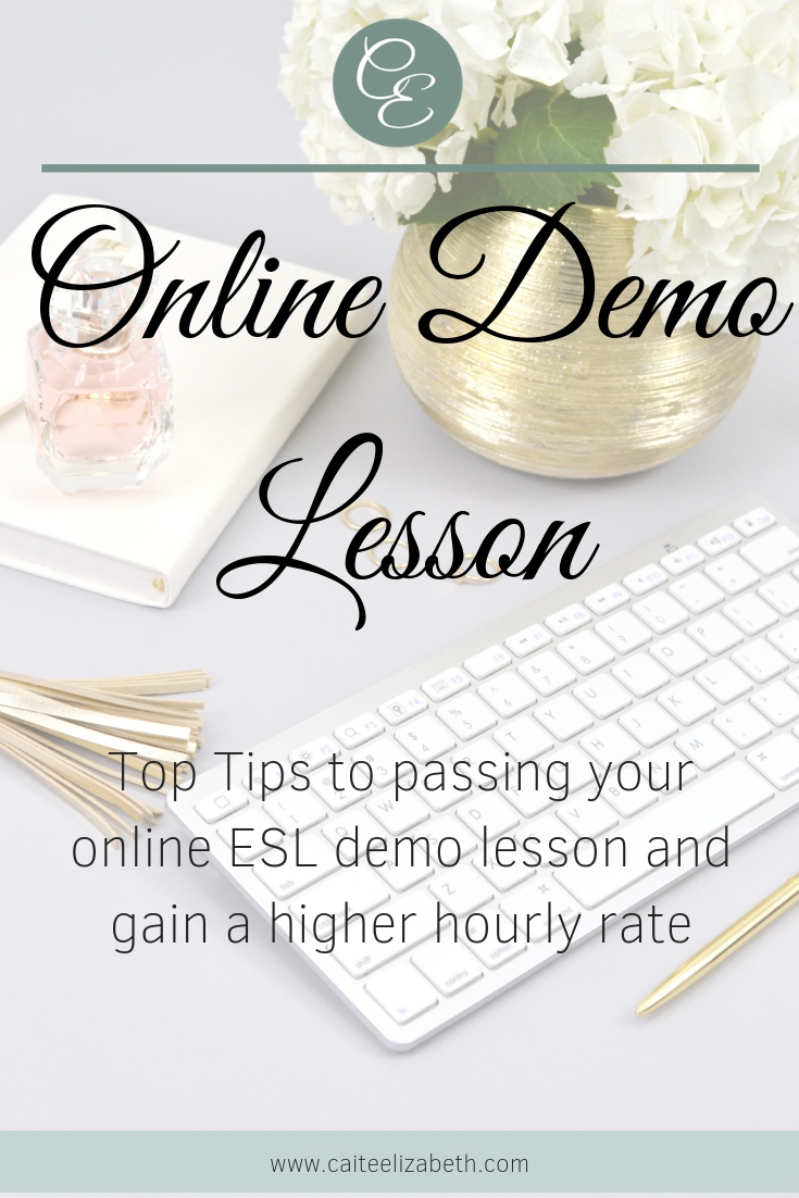 Have you considered teaching online as a work from home career? Here are the top tips to get you through the demo lesson stage of your application and gain a higher hourly rate. Read on to find out more.