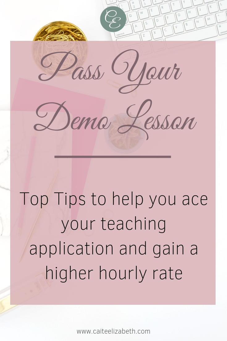 Top Tips for passing your online demo lesson. If you are interested in working from home and working online, teaching ESL online is a great way to do so. This post takes you through some great top tips to pass your demo lesson and become an online teacher.