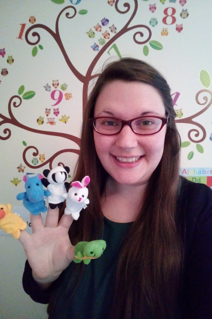 Puppets are great props to use for teaching ESL online. They help give words more meaning and can make lessons more engaging and fun for students.