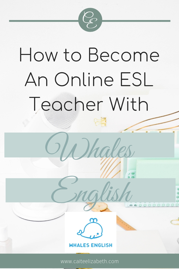 How to become an online ESL teacher with Whales English