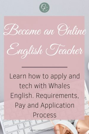 Become a Teacher with Whales English