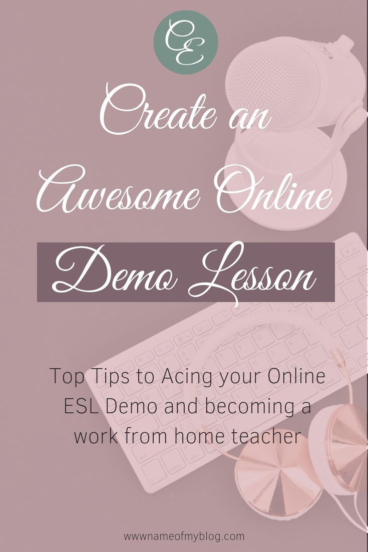 Top Tips to creating your own online demo lesson for your teaching application