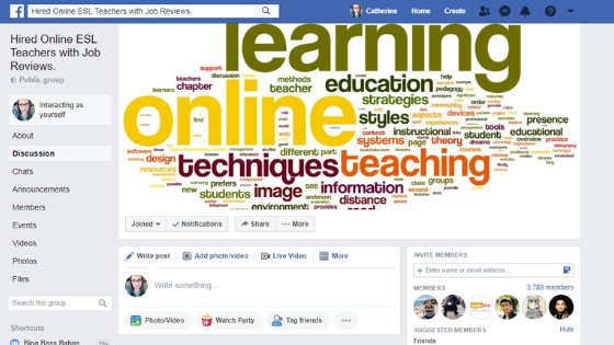 10 Facebook Groups to Help You Find Your First Online Teaching Job
