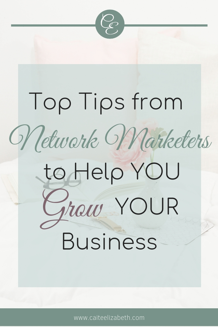 Want to grow your network marketing business? Read this blog post which details top tips from successful network marketers who share ways for you to grow your network marketing business for success. #mlmbusiness #mlmtoptips #networkmarketingtips
