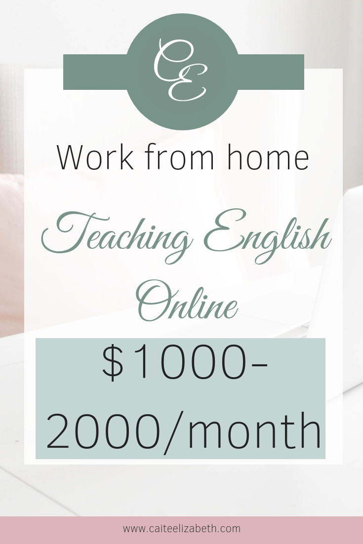 Looking to work from home? Here are some examples of how to earn $1000-2000 every month as an online English teacher. Find out how by clicking to read more. #workfromhome #$1000amonth #teachonline #waystoworkfromhome