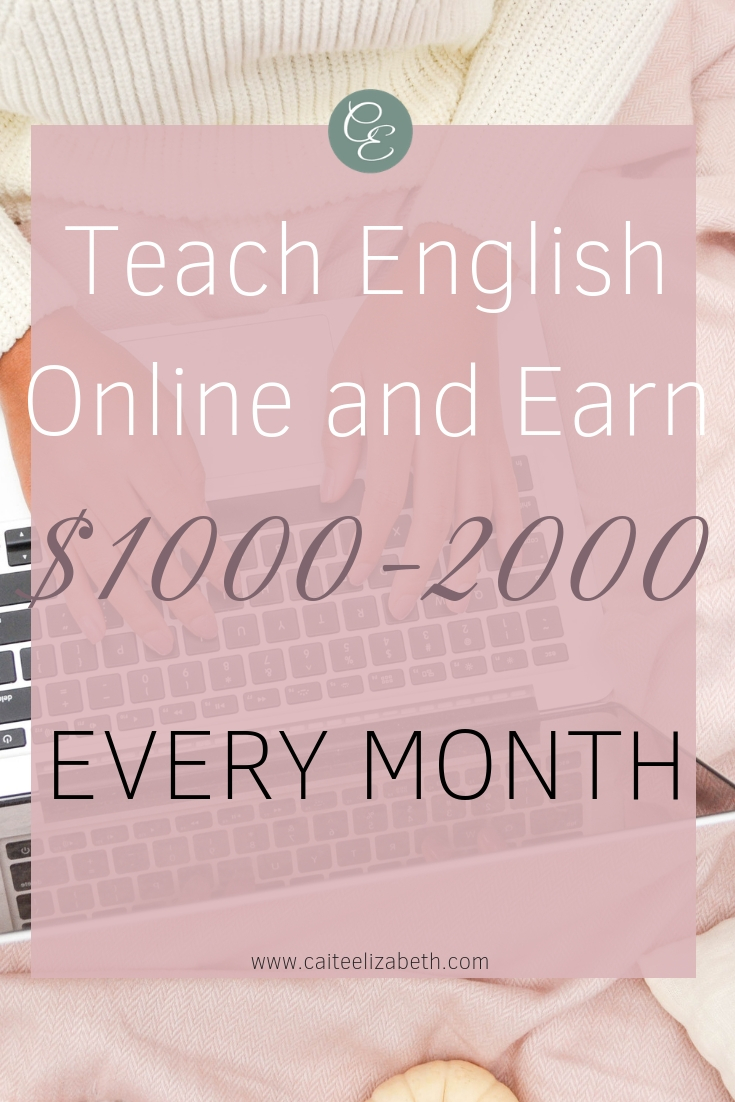 Earn an income working online. Become an online teacher and earn a full-time income working part-time hours. Here are some examples of how you can earn between $1000-2000 every month teaching online. #teachonline #workfromhome #parttimehoursfulltimeincome