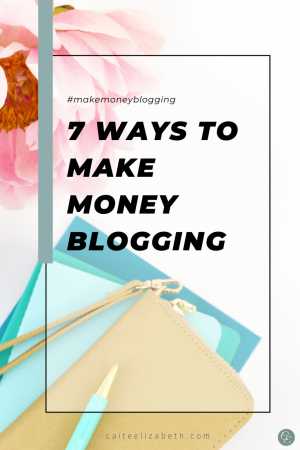 Different ways to earn money blogging