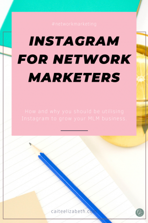 Top tips for network marketers using Instagram