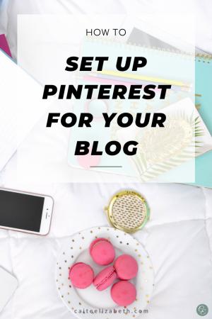 Optimise your Pinterest Profile