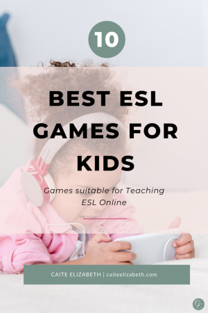 Games for Teaching English Online