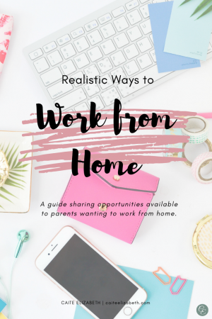Different Ways to Work from Home