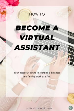 Work from home as a VA