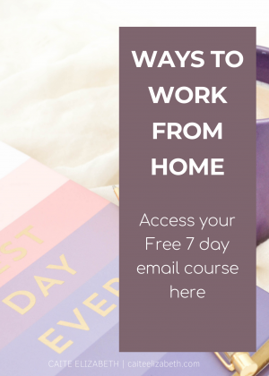 mini work from home course