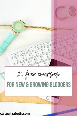 blogging courses for new bloggers free