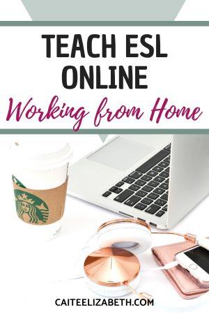 teach esl online wfh