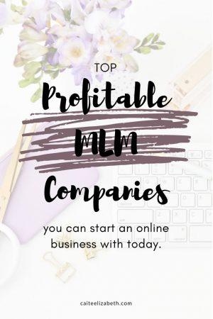 profitable mlm companies