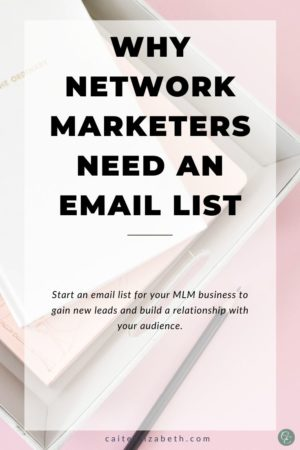 start network marketing email list