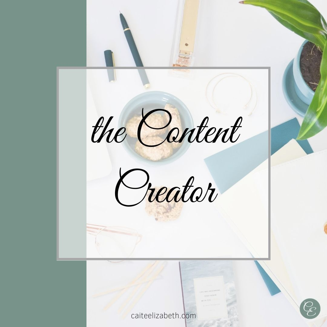 content creator CE services package