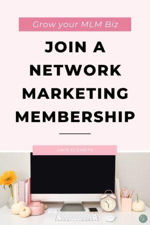 network marketing memberships